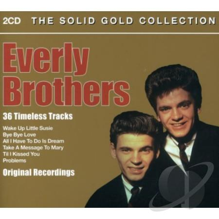 Everly Brothers - Solid Gold Collection (2CD 2014)