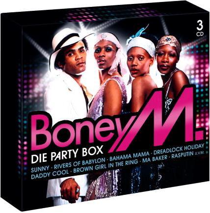Boney M - Die Party Box (3CD)