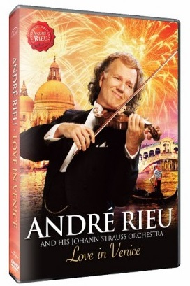 Andre Rieu - Love in Venice, Maastricht (DVD 2014)