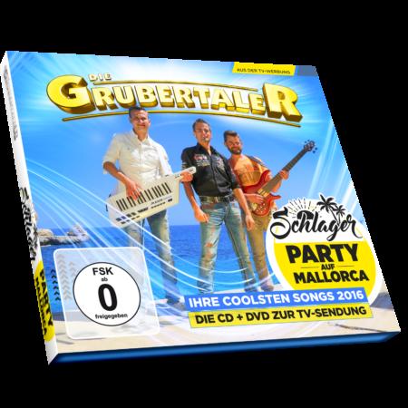 Die Grubertaler - Schlagerparty auf Mallorca (CD 2016
