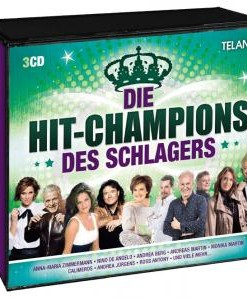 Various - Die Hit-Champions des Schlagers (3CD 2017)