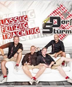 Nieuwe CD van de groep DIE DORFSTÜRMER met veel nieuwe hits.