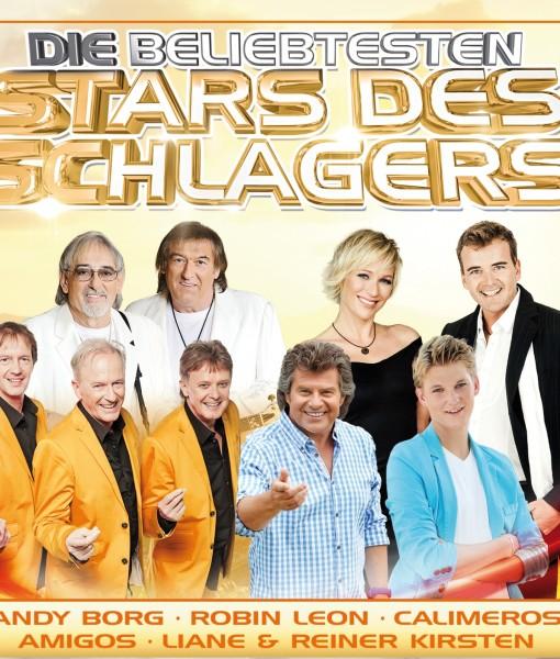 Various - Die beliebtesten Stars des Schlagers (CD 2016)