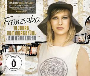 Franziska - 10 Jahre Sommergefühl Fan Edition - Ein Abenteuer (2CD, DVD 2017)
