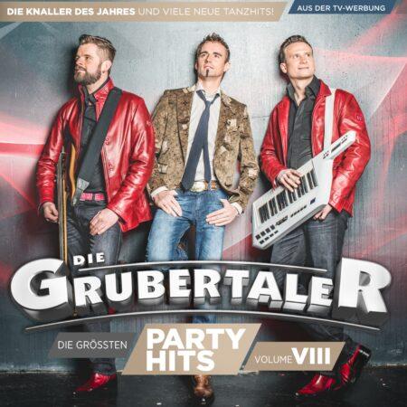 Die Grubertaler - Die größten Partyhits - Vol. VIII (CD 2016)