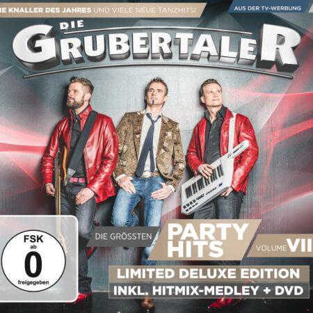Die Grubertaler - Die größten Partyhits: Vol. VIII: Deluxe Edition (CD 2016)