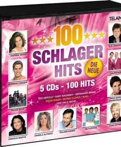Various - 100 Schlager Hits, Die Neue (5CD 2017)