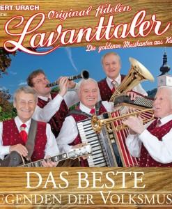 Hubert urach u.s. Fidelen Lavanttaler - Legenden der Volksmusik, Das Beste (CD 2017)
