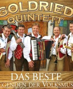 Goldried Quintett - Legenden der Volksmusik, Das Beste (CD 2017)