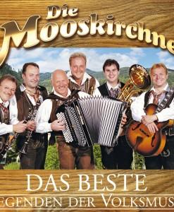Die Mooskirchner - Legenden der Volksmusik, Das Beste (CD 2017)