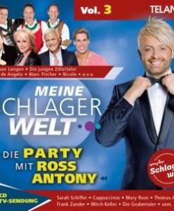 Various - Meine Schlagerwelt - Die Party mit Ross Antony - Vol. 3 (CD 2017)