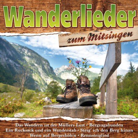 Various - Wanderlieder zum Mitsingen (CD 2017)