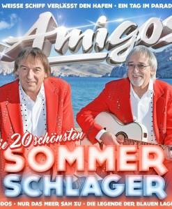 Amigos - Die 20 schönsten Sommerschlager (CD 2017)