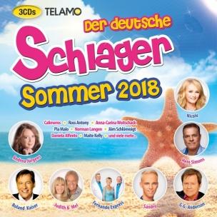 Various - Der Deutsche Schlager Sommer 2018 (CD 2018)