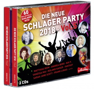 Various - Die neue Schlager Party, Vol. 5 (3CD box2018) *AANBIEDING*
