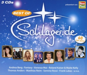 Various - Best of Schlager.de (3CD box 2018) *AANBIEDING*