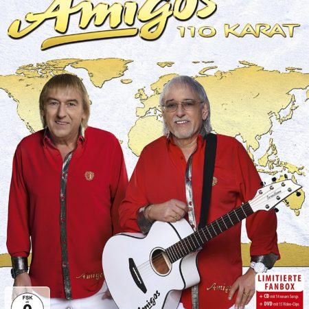 Amigos - 110 Karat-Fanbox Box-Set (CD+DVD 2018)