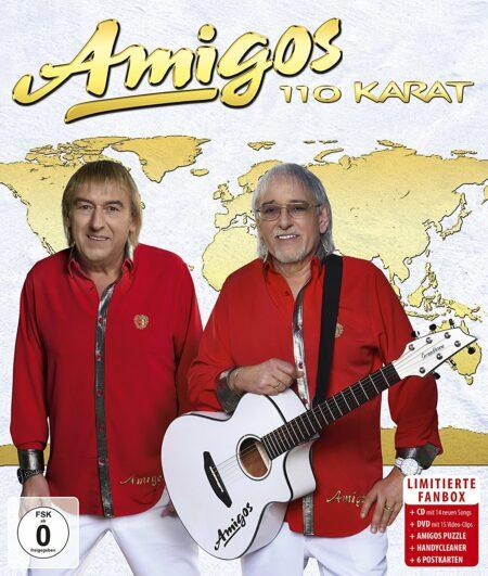 Amigos - 110 Karat-Fanbox Box-Set (CD+DVD 2018)