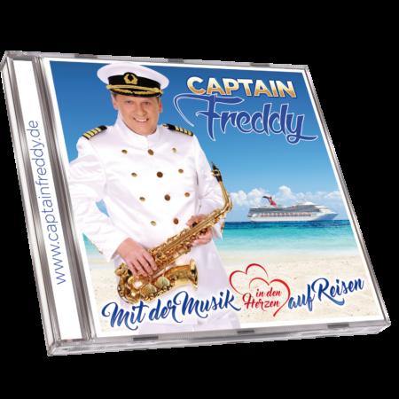 CAPTAIN FREDDY - Mit Musik in den Herzen auf Reisen (CD 2018)