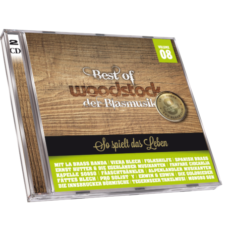 Best Of Woodstock der Blasmusik Vol. 8 (CD 2018)