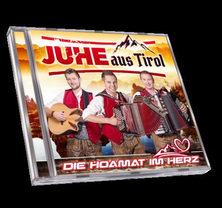 JUHE aus TIROL - Die Hoamat im Herz (CD 2018)