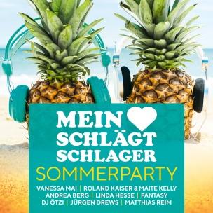 Various - Mein Herz schlägt Schlager - Sommerparty (2CD 2018)