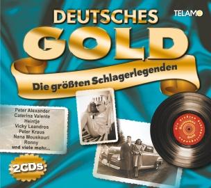 Various - Deutsches Gold - Die größten Schlagerlegenden (2CD 2018)