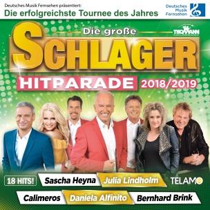 Various - Die große Schlager Hitparade 2018/ 2019 (CD 2018)