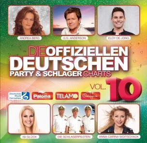 Various - Die offiziellen deutschen Party & Schlager Charts Vol. 10 (2CD 2018)