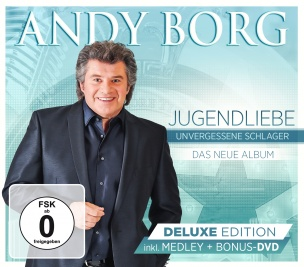 Andy Borg - Jugendliebe - Unvergessene Schlager DELUXE Edition (CD+DVD BOX 2018)