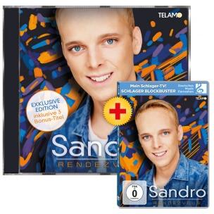 Sandro - Rendezvous (CD + DVD 2018)